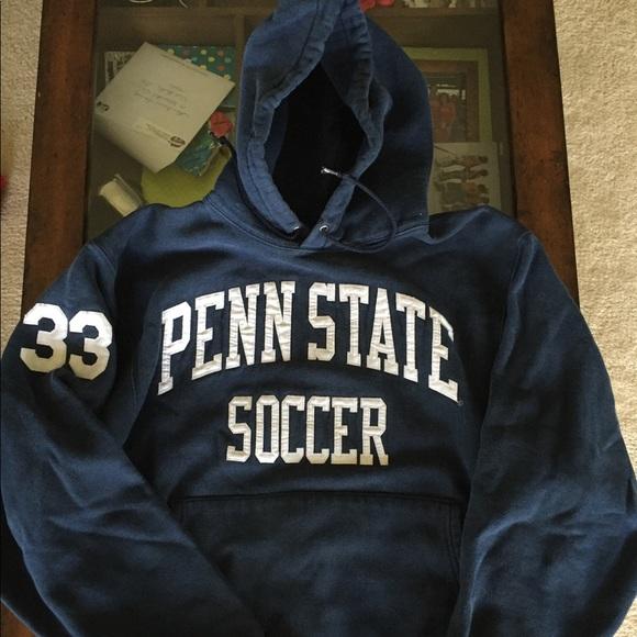 65911967 Champion Shirts | Vintage Reverse Weave Psu Soccer Hoodie | Poshmark